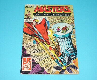 MOTU HE-MAN MASTERS OF THE UNIVERSE STAR COMICS #3 DUTCH 1980s JUNIOR PRESS NL