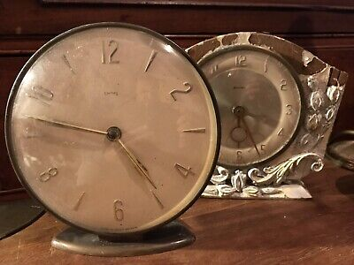 Antique Vintage Deco Clocks Smiths Bentima