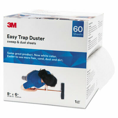 3M™ Easy Trap™ Duster System - 60 Dusters/Box - 480 / Carton - White