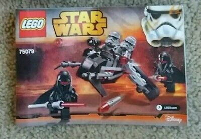 Lego 75079 Star Wars Disney Shadow Troopers INSTRUCTION MANUAL ONLY