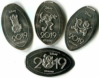 2019 PLUTO Pressed Quarter Walt Disney World Elongated Press Coin WDW '19