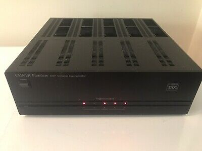 Carver AV-705X 5 Channel Power Amplifier 125 watts rms/ch Amp With Manual