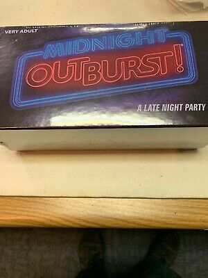 Midnight Outburst A New Adult Party Game From the Creators of Taboo Brand New