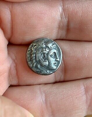 Silver drachm of Alexander III the Great (336-323 BC). A nice coin!
