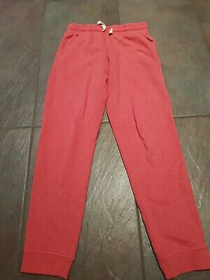 Next Girls Age 11 Pink Joggers Very Good Condition