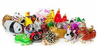 Walking pet animal balloonsx 1000 wholesale joblot party fairground xmas