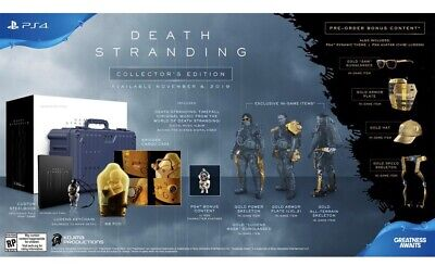 Death Stranding Collector's Edition PS4 Playstation 4 2019 Kojima SOLD OUT 🚛✅