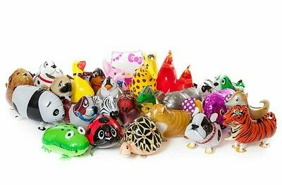 *** Walking pet animals balloons x 500 wholesale mixed joblot party pack ***
