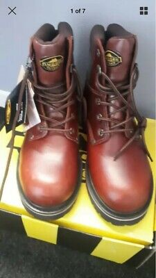 ⭐NEW⭐ Rugged Outback Mens Work Boots Size 7