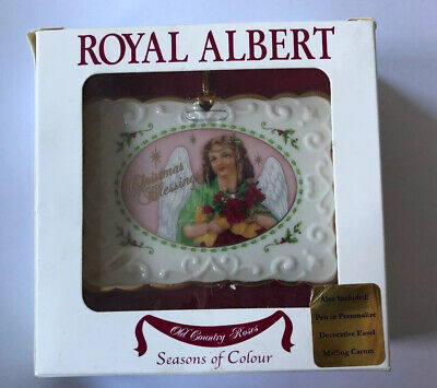 Royal Albert Old Country Roses POST CARD Ornament Victorian Seasons of Color 4x3