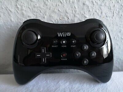 Official Wii U Pro Controller Wireless Gamepad in Black For Nintendo Wii U