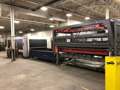 Bystronic BySprint 3Kw 3015 w/ ByTrans Extended CNC Fiber Laser w/ Shuttle Table