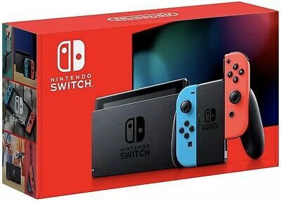 Consola NINTENDO SWITCH V2 [New Version] Azul/Rojo Neón 32Gb