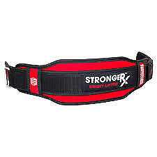 Weight Lifting Belt Wide Back Support Gym Training Exercise Quick Release System