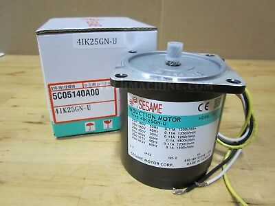 0-C Sesame Motor 4IK25A-APTs 1500rpm 25W 0.54A 115V induction motor
