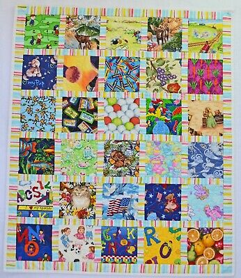I SPY Baby Quilt #42 -  Toddler quilt, Wall Quilt, ISPY  I-SPY