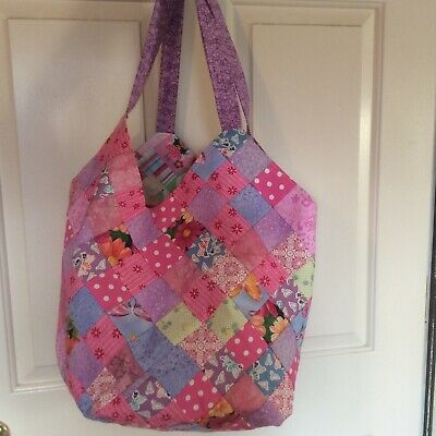 Home Made Baby Girl Diaper Bag Or Over Night Bag Tote