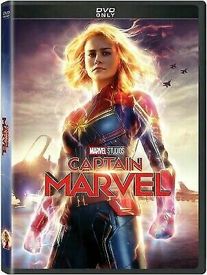 Captain Marvel - Dvd - Brand New Factory Sealed ***Authentic*** Free Shipping