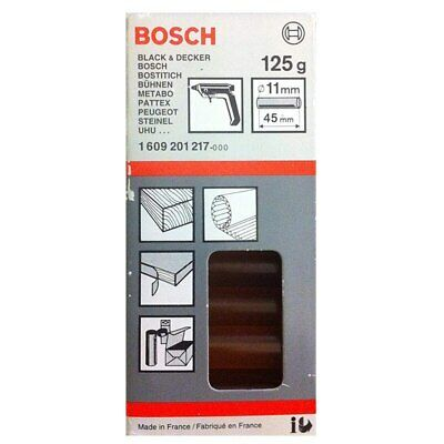 Bosch 1609201217 Hot Glue Sticks 125g 11x45mm