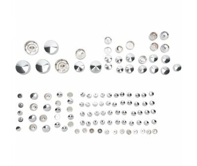 Harley Davidson Xl 04/19- Kit Caches Boulons Chromes Deluxe -2401-0688