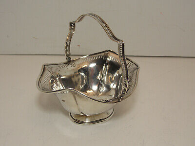 Wallace Vintage Sterling Silver Candy Compote Bowl Dish W/ Handle