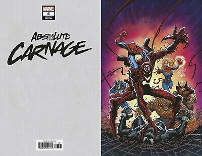 Absolute Carnage #5 (Of 5) Ron Lim Virgin 1:200 Marvel 11/20/2019 Eb101