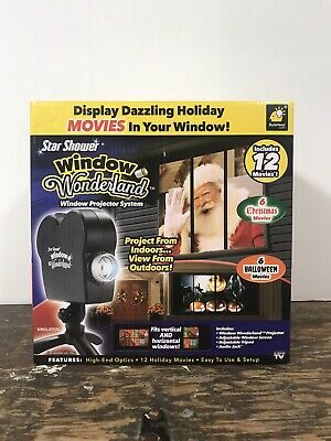 Star Shower Window Wonderland Projector Bulbhead Halloween & Christmas Movies