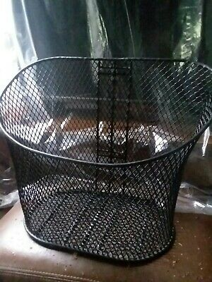 Pride Mobility Black FRONT BASKET for Victory, Go-Go Sport, Pursuit Scooters