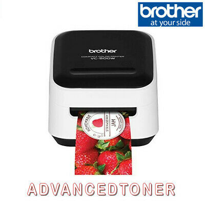 Brother VC-500W Full Colour  Label Maker and Photo Printer with Full Warranty