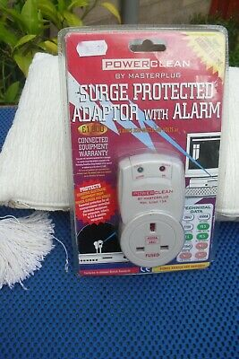 Surge Protector Adapter With Alarm