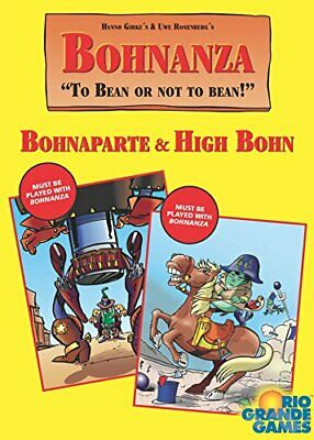Bohnanza High Bohn Plus Bohnaparte Card Game