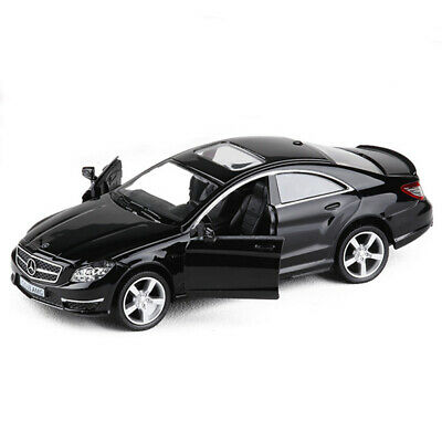 Mercedes Benz CLS 63 AMG 1/36 Model Car Diecast Toy Kids Gift Collection Black