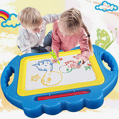 Baby Erasable Magnetic Drawing Board Educational Kids Doodle Toy Xmas Gift Funny