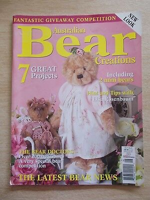 Bear Creations Vol 11 #6~Rosalee~Petal~Augustus~Chester~Darnley~Wall-hanging