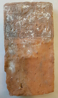 "Very Rare. Huge Brick With Inscription ""Mal"" And ""Er"" With Representation Of Cen"
