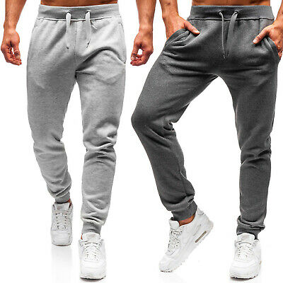 Trainingshose Sporthose Hose Jogginghose Fitness Slim Fit Herren BOLF 6F6 Basic