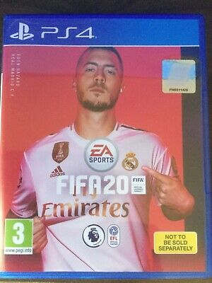 PS4 game Fifa20