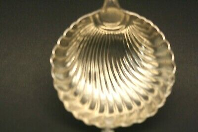 Antique English Sterling Silver Soup Ladle By Hester Bateman  (1777) Shell Bowl