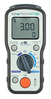 Kewtech KT300 Digital Insulation / Continuity Tester