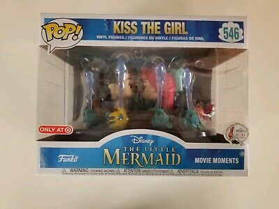 The Little Mermaid Kiss the Girl POP! #546 Funko Target Disney VAULTED Ariel 1