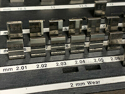 Starrett Webber Croblox Metric - Your Choice of Listed Size - 1 Piece