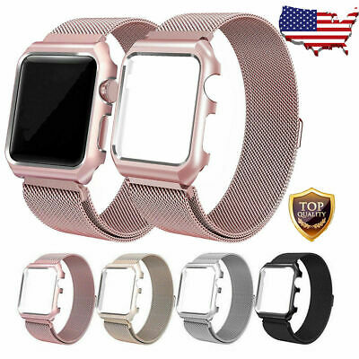 For iWatch Apple Watch Band 38/42/40/44mm Series 5 4 3 Women Men Strap Wristband