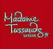 2 X Madame Tussauds E-Tickets - Pick Your Own Date