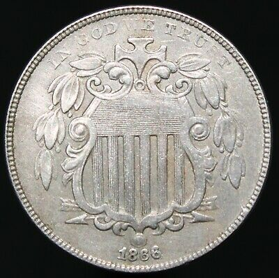 1866 | U.S.A. Nickel 5 Cents | Cupro-Nickel | Coins | KM Coins