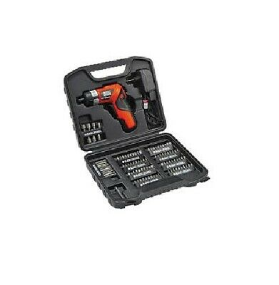 Black&Decker PD500CK tournevis compact kit complet  *NEUF*