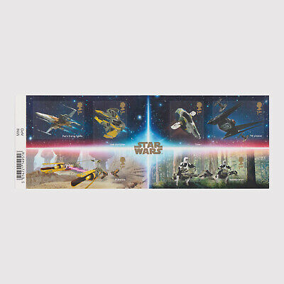 2019 Star Wars Miniature Sheet with Barcode