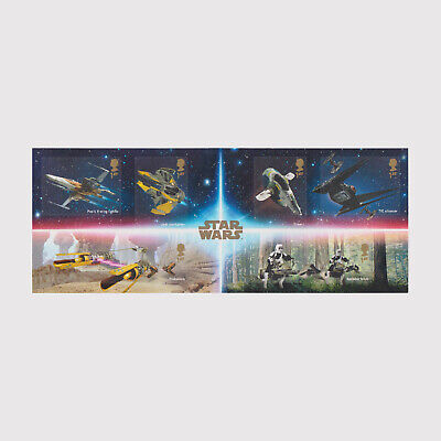 2019 Star Wars Miniature Sheet without Barcode