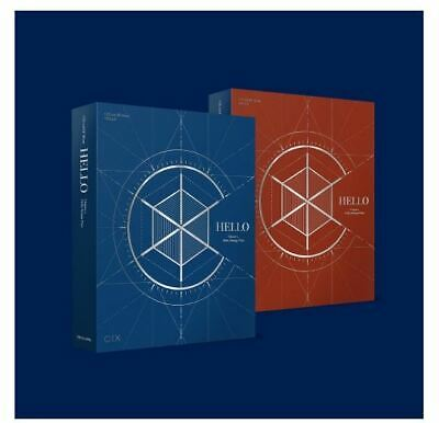 CIX 2nd EP ALBUM HELLO Chapter 2. Hello, Strange Place CD + POSTER IN TUBE CASE
