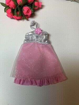Factory Sample Modern Barbie Doll Fashionistas Fashion Outfit Pink Party Dress ~