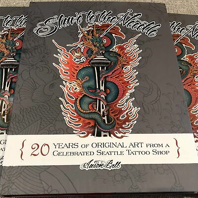 Aaron Bell - Slave to the Needle - Photo Tattoo Flash Book Diary